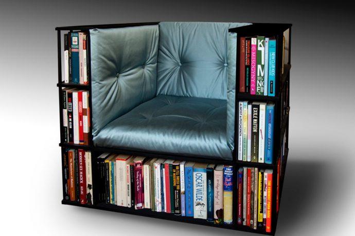 10 идей креативных книжных полок для вашей библиотеки рис 8