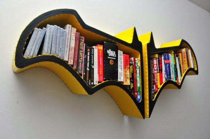 10 идей креативных книжных полок для вашей библиотеки рис 2