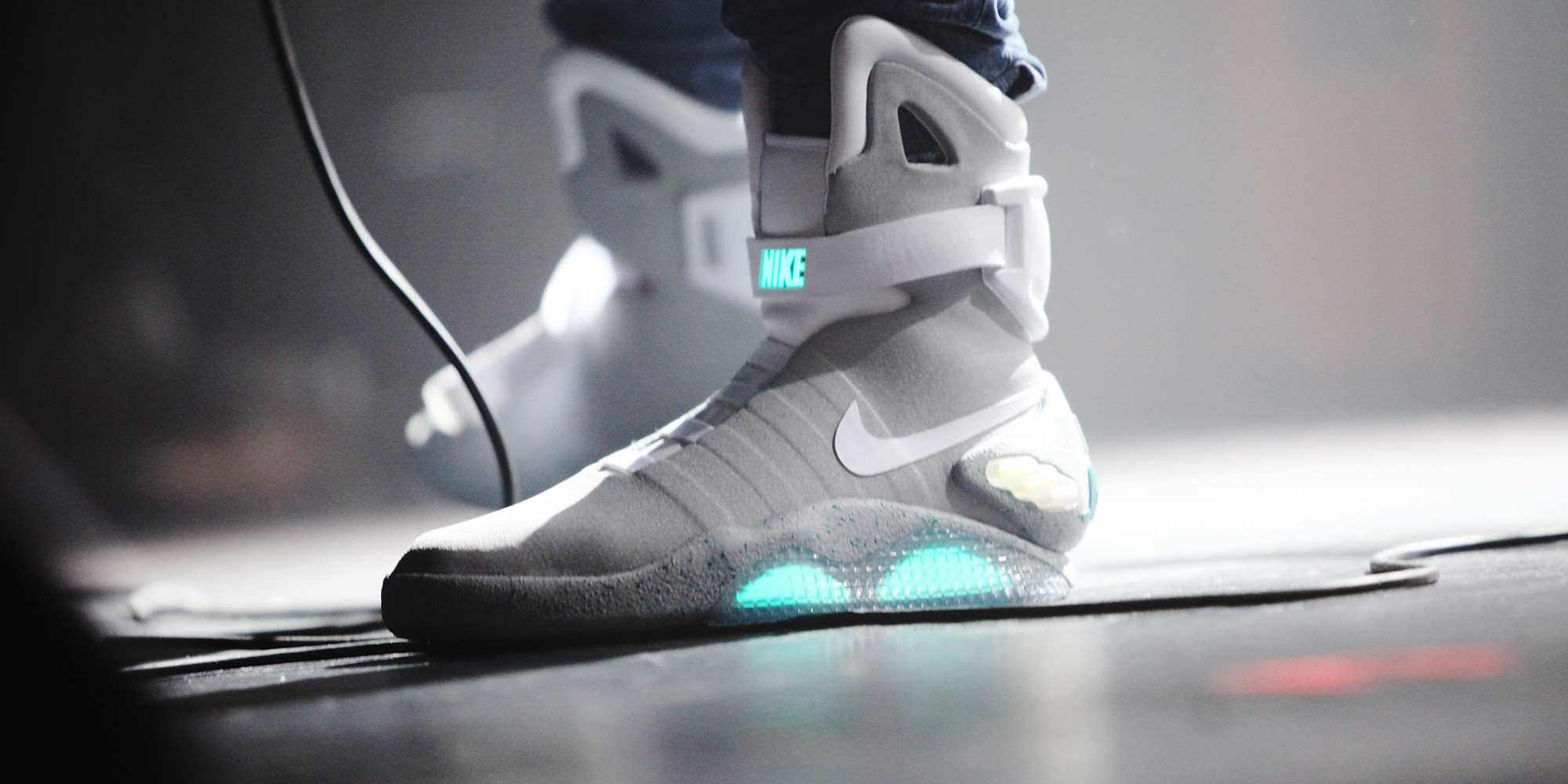 Nike market MAG self-lacing sneakers - Daily Mail Online