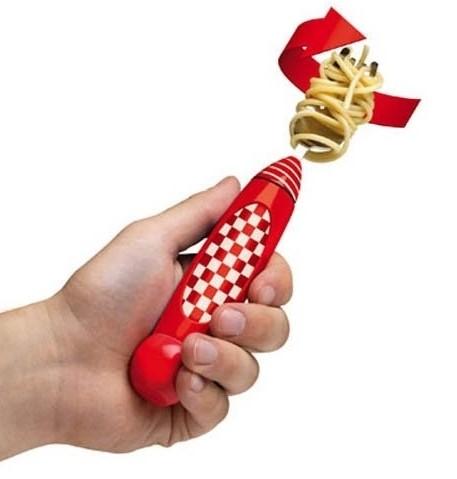 Автоматическая вилка для спагетти