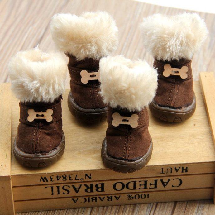 Thick-Fur-Pet-font-b-Shoes-b-font-Small-font-b-Dogs-b-font-font-b