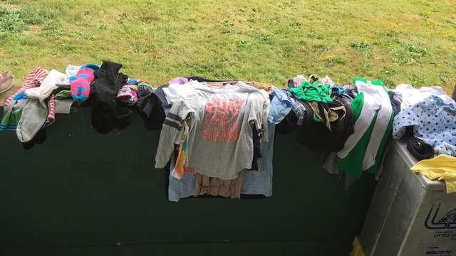 одежда на улице