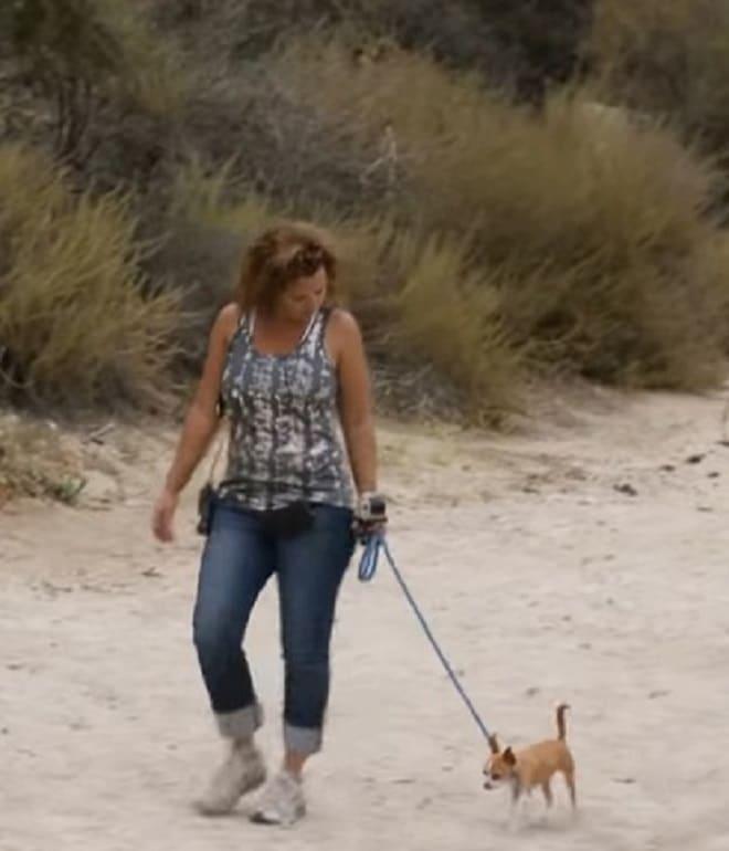 Женщина с собачкой