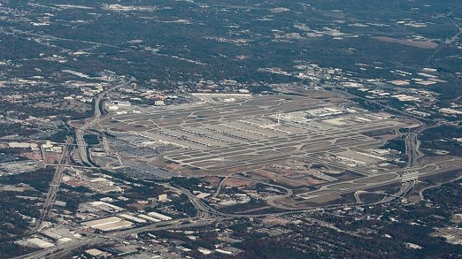 Большое аэропорт